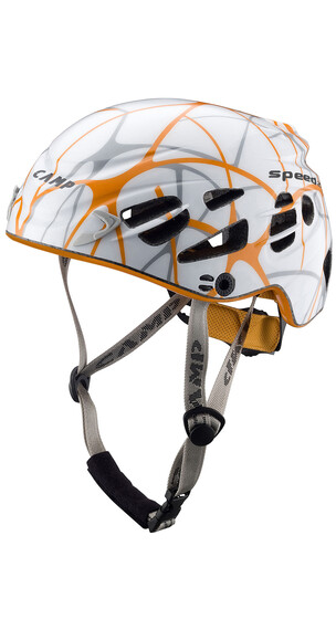 Camp Speed 2.0 klimhelm oranje/wit